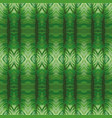 mirror green leaves background vector image vector image