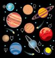 planet solar system vector image