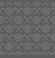 viking seamless pattern with axes and shields vector image vector image