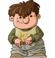 Young boy vector image vector image
