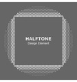 Abstract Halftone Design Element vector image vector image