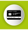Bank credit card icon vector image vector image