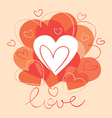 Card of valentine day vector | Price: 1 Credit (USD $1)