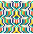 Colorful op art pattern vector image vector image
