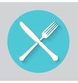 Fork and Knife icon vector image