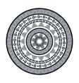 icon mandala india culture design vector image