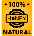 natural honey background vector image
