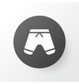 shorts icon symbol premium quality isolated vector image