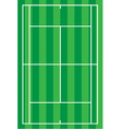 sport tennis court vector image