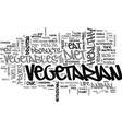 why eat vegetarian text word cloud concept vector image vector image
