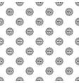 brand new emblem pattern seamless vector image