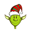 Christmas Green Elf vector image