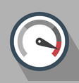 gauge icon vector image