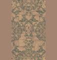 vintage baroque damask ornament pattern vector image vector image