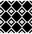 abstract seamless pattern with black and vector image vector image