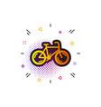 Bicycle transport icon bike public transportation