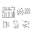 Equipment machine forklift and other web icon in
