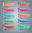 flash usb - business infographic vector image