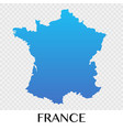 france map in europe continent design vector image
