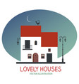 houses-03 vector image vector image