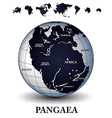 pangaea vector image vector image