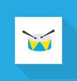 percussion icon flat symbol premium quality vector image