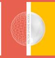Sphere - design elements vector image