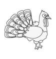turkey animal icon image vector image vector image