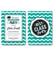 the party flyer layout vector image