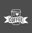 coffee mug wibadges and labels elements for vector image
