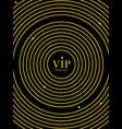 dark design cover brochure gold circle line vector image vector image