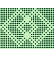 green mosaic - seamless wallpaper vector image vector image