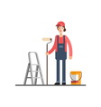 House repair Painting services vector image vector image