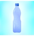 Sparkling mineral water vector image