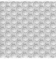 spirals seamless grey vector image vector image