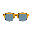 Sunglasses fashion accesory vector image