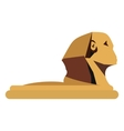 The Great Sphinx of Giza vector image