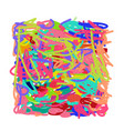abstract scribble background for your design vector image vector image
