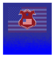 Background flag American vector image vector image