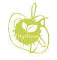 bio ecology organic logo and icon label tag vector image