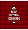 christmas special menu design vector image