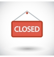 Closed Sign vector image vector image