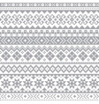 fair isle shtelands traditional pattern vector image vector image