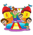 kids play theme image 9 vector image