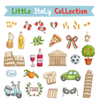 Little Italy collection vector image