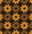 Seamless pattern abstract flowers vector image vector image