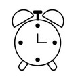 time clock cartoon vector image