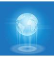 World business background vector image