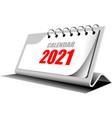 3d desk calendar 2021 year