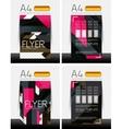 abstract flyer - brochure templates set